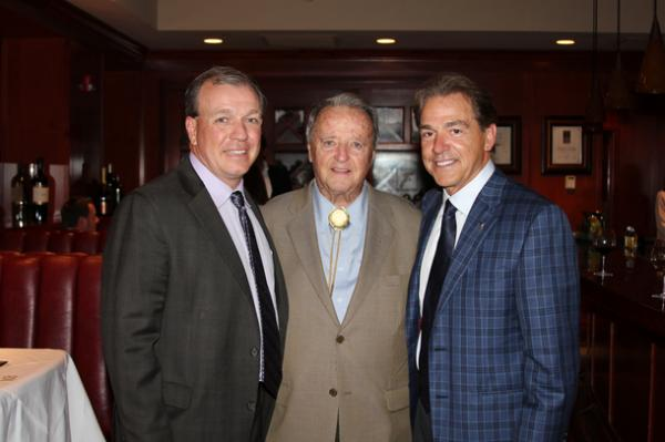 Fisher Joined by Saban, Bowden at Kidz1stFund Event