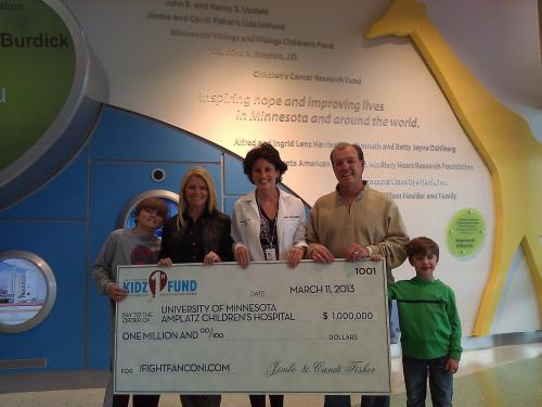 Jimbo and Candi Fisher's Kidz1stFund Fights Rare Disease  with $1 Million in Donations in Only Second Year