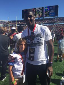 Xavier Rhodes and Ethan Fisher